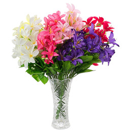 $enCountryForm.capitalKeyWord UK - Amazing Value 45CM Long Lily 30Heads Artificial Flower Silk Flower Table flower 6 Color for Wedding Anniversary Home Decoration 105 - 1014