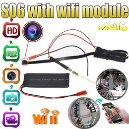 Hd cctv recorder online shopping - HD P Mini Camera S06 Wireless Wifi DIY Module Board Camera Motion Activated Video Recorder home security CCTV Camera