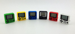kids educational game 2018 - Portable Mini Russian Brick Game Console Kid Retro Puzzle Educational Player ElectronicToy For Children Multi Color chea