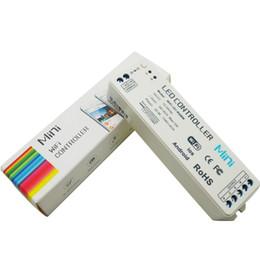 Rgbw Wifi Controller NZ - New sale 2.4G MINI WIFI rgbw controller iOS Android APP WiFi RGBW led controller Wireless For rgbw led strip light DC12V 24V