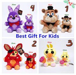 Toy Bonnie NZ - Best Christmas Gift for kid 10pc Game 25CM Five Nights at Freddy's Plush Bonnie Foxy Freddy Chica Fazbear Fever Plush Toy Stuffed Soft Dolls