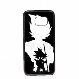 Chinese  DRAGON BALL Z Super Saiyan God Son Goku Phone Covers Shells Hard Plastic Cases For Samsung Galaxy S4 S5 MINI S6 S7 edge S8 S8 Plus manufacturers