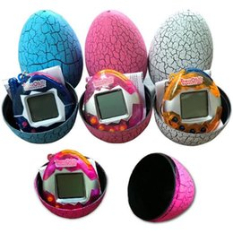 New virtual games online shopping - New Retro Dinosaur Egg Tumbler Virtual Cyber Digital Pets Electronic Game Machine Electronic Digital Toy Handheld Game Pet Machine