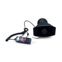 Опт 12 в 5 звук автомобиль предупреждение Сирена Рог акустическая система усилитель микрофона Epyg