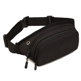 Wholesale Men Waterproof D Nylon Sling Chest Fanny Pack Waist Bag Hip Bum Belt Messenger Shoulder Pouch Purse