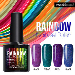 PurPle gel nail Polish online shopping - Modelones ML Neon UV Gel Nail Polish Long Lasting Nail Gel Peel Off Soak off LED Lamp Cosmetic Hot Color Gel Polish
