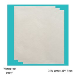 $enCountryForm.capitalKeyWord Canada - (l120427) 100 sheets 75 cotton 25 linen printinng paper waterproof cotton paper 100%