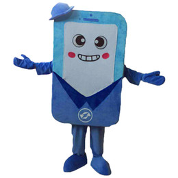 $enCountryForm.capitalKeyWord Canada - Phone Mascot Costumes Cartoon Character Adult Sz 100% Real Picture