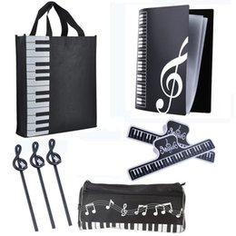 $enCountryForm.capitalKeyWord Canada - New Music Art Students Study Set Music Stationery Set School Study Set With Large Capacity Bag contains 5 Products