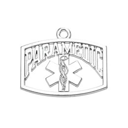 Wholesale Charms Australia - New Fashion Metal Rhodium Plating Medical Sign Charms Pendant For DIY Making Jewelry