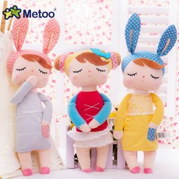 $enCountryForm.capitalKeyWord Canada - Metoo Plush Angela Toys Plush Stuffed Animal Cartoon Kids Toys for Girls Children Baby Gift Angela Rabbit Gir