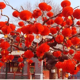 """$enCountryForm.capitalKeyWord NZ - New Arrival 6""""(15CM) Red Chinese Paper Lanterns for Wedding Festival Birthday Party Floral Home Decoration 100pcs lot free shipping"""
