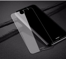 anti shock protectors NZ - For Iphone 6 6S 7 Plus 5S Samsung S7 Edge S8 9H 0.26mm 2.5D Tempered Glass anti shock screen protector Film
