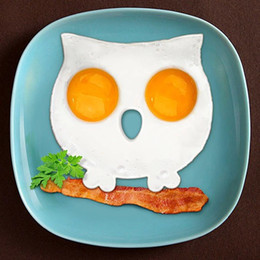 $enCountryForm.capitalKeyWord NZ - Breakfast Silicone Owl Fried Egg Mold Pancake Ring Shaper Cooking Tools Kitchen Gadgets Kid Gift