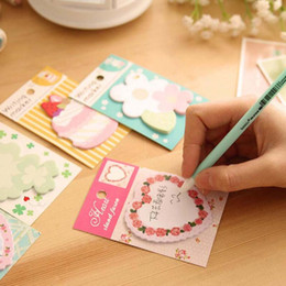 Sticky write note online shopping - Sweet Sets Flower Cake Shape Writing Pads Memo Pad Gift School Office Supplies Book Marker Sticky Notes Home Decorations Papelaria