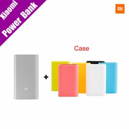 $enCountryForm.capitalKeyWord Canada - Original Xiaomi Power Bank 5000mAh Mi Portable Charger Slim Powerbank 5000 for Xiaomi Mobile Phones with Silicone Case