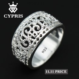 SALE Best Selling 2017 Hot Wholesale Price Silver Ring Flower Plant  Sterling Hollow Gift Jewelery Unique Style Unisex Women 925