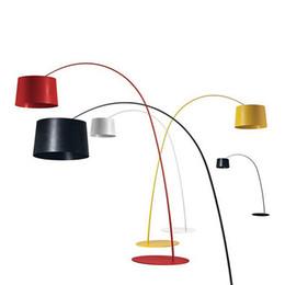Fashion Floor light lamp online shopping - Foscarini Twiggy Terra Floor Lamp Fishing Floor Lamp Modern Minimalist Fashion Black Yellow Red White Living Room Bedroon Meeting Room Light