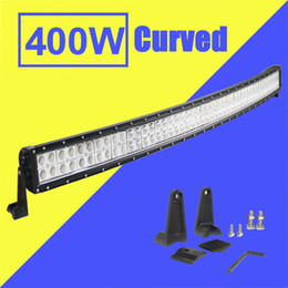 $enCountryForm.capitalKeyWord Canada - 52 inch 400W Led Light Bar Curved Combo Beam Work Light For Offroad Truck Jeep Boat Trailer 4x4 ATV SUV 9-32V Auto Lamp (without Wiring Kit)