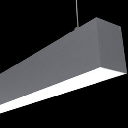 $enCountryForm.capitalKeyWord NZ - 10 X 1M sets lot Power coating aluminium profile for led strip and large two layers led channel for ceiling pendant lamps