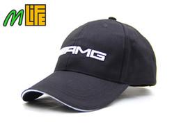 Buena calidad /// AMG bordado F1 Racing Team Gorra de béisbol de algodón Moda Hombres Mujeres ajustable Golf Cap Sun Trucker Hat