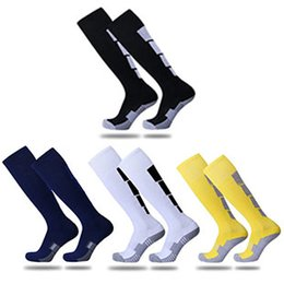 soccer sweats Australia - 2017 free shipping adult towel bottom anti-skid anti-odor shock absorption breathable sweat soccer sports socks stockings socks high tube so