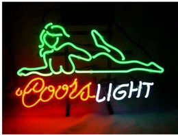 night cooling glasses 2019 - Fashion New Handcraft Beautifui Girls Lay Cool LightReal Glass Tubes Beer Bar Pub Display neon sign 19x15!!!
