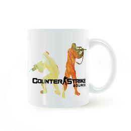 Game counters online shopping - CS Counter terrorism Game Counter Strike Source Mug Coffee Milk Ceramic Creative DIY Gifts Home Decor Mugs oz T042