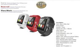 Bluetooth Smart Watch Sim Australia - U8 Smart Watch Bluetooth Smart Watch With SIM Card Slot And NFC Health Watchs For Android Samsung And IOS Apple Iphone Smartphone Bracel