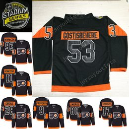 ... Hockey Jerseys 17 Wayne Simmonds 50th patch Orange Authentic Stitched Jersey  2017 Stadium Men Philadelphia Flyers 2017 Stadium Series Eric Lindros ... a77e39f48