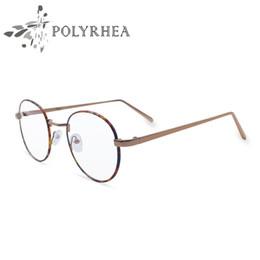 1fa47b395051 Optical Glasses Frame Super Light-weight Vintage Round Frame Original Clear  Lens Brand Designer Frame Men Women Eyeglasses With Box