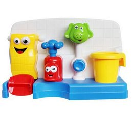 $enCountryForm.capitalKeyWord Canada - High Qualtiy Baby Bath Toys Play Taps Buttressed Automatic Spout Play Taps Spray Shower Baby Gifts Play Water
