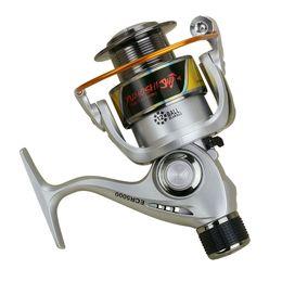 $enCountryForm.capitalKeyWord Canada - New ECR2000-7000 Series 12 Ball Bearing Fishing Wheel Metal Spool Rear Brake Spinning Reel 5.5:1 Left Right Hand
