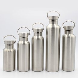 $enCountryForm.capitalKeyWord Canada - Vacuum Cup Stainless Material Steel Double Deck Outdoors Motion Kettle Insulated Double Wall Vacuum Water Bottle Hot Sell 22ys J R