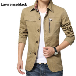 fashion jackets NZ - Wholesale- Mens Jackets And Coats Chaquetas Hombre Casaco Slim Fit Masculino Brand Jackets Solid Fashion Male High Quality Luxury Jacket 5