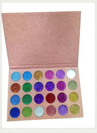 China 2017 New brand CLEOF Cosmetics Glitter Eyeshadow Palette 24 Colors Makeup Eye Shadow Palette DHL free shipping suppliers