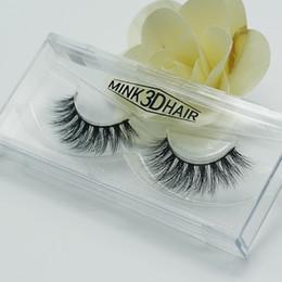 3d Hair Canada - 3d Mink lashes 100% Thick real mink HAIR false eyelashes natural for Beauty Makeup Extension fake Eyelashes false lashes