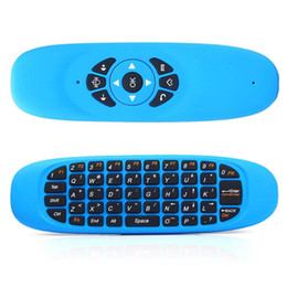 $enCountryForm.capitalKeyWord Canada - DHL Ship C120 gaming keyboard Air Mouse Remote Controller with USB Receiver Mini Wireless 2.4GHz teclado inalambrico Smart Tv keyboard PC