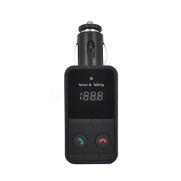 online shopping New Bluetooth Car Kit MP3 Music Player FM Transmitter Black HandsFree Wireless Modulator TF SD Remote Control LCD Display