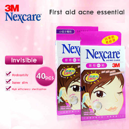 Barato Vestido Taiwan-Taiwan 3M Nexcare ACNE DRESSING PIMPLE STICKERS PATCH COMBO Primeiros socorros Cuidados com a pele Cuidados com a acne Evitar obstruir pore 80pcs / lot