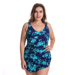 cute sexy bathing suits UK - 2017 New Summer Top Quality Retro Floral Plus Size Sexy One Pieces Swimwear Women Swimsuit Cute Beachwear Swimming Bathing Suit
