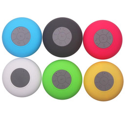 China Bluetooth Mini Portable Wireless USB Speaker Shower Waterproof Sound box loudspeaker Boombox Subwoofer for Laptop PC MP3  MP4 cheap waterproof subwoofer box suppliers