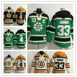 0df2979a469 ... Boston Bruins hockey hoodie 4 Bobby Orr 33 zdeno chara 37 patrice  bergeron Hockey Hooded Stitched 4 CCM Authentic Bobby Orr Mens White NHL  Jersey ...