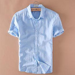 Discount White Linen Shirt Mens Slim Fit | 2017 White Linen Shirt ...