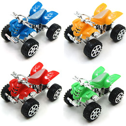 toy plastic motorcycles Canada - Children's toys wholesale puzzle toy mixed batch motorbike toy car ATV Motorcycle 30g