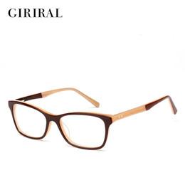 1c67d9ed67b Wholesale Designer Eyeglass Frames Canada - Wholesale- Acetate women  eyeglass frames retro myopia optical brand