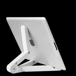 Evrensel Ayarlanabilir Katlanır Cep telefonları Standları Dağı Tutucu Tripod Cradle iPad 2/3/4 5 Mini Hava 7-10 inç Tablet PC