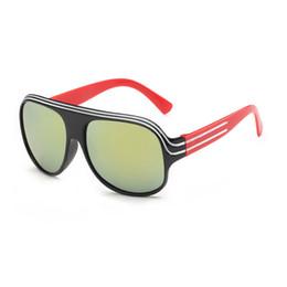 China Fashion PC frame New Children HD lenses Sunglasses Kids Child sunglasses For Girls Boys Goggle Baby protect eye UV400 eyeglasses go outdoor cheap eyeglass frames for kids suppliers