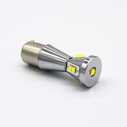 24v 1156 light bulb online shopping - New V w led car light bulbs for side tail backuplight turn parking signallight