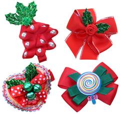 Best Gift For Xmas Australia - Girls Christmas Lollipop Headband Xmas Tree Hairpin Barrettes Headbow Best Christmas Gifts for Baby Tolders Girls
